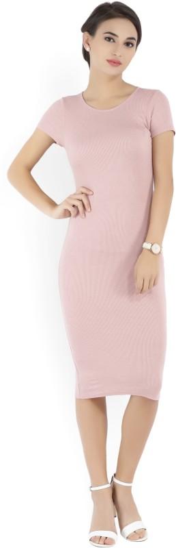Forever 21 Women's Sheath Pink Dress