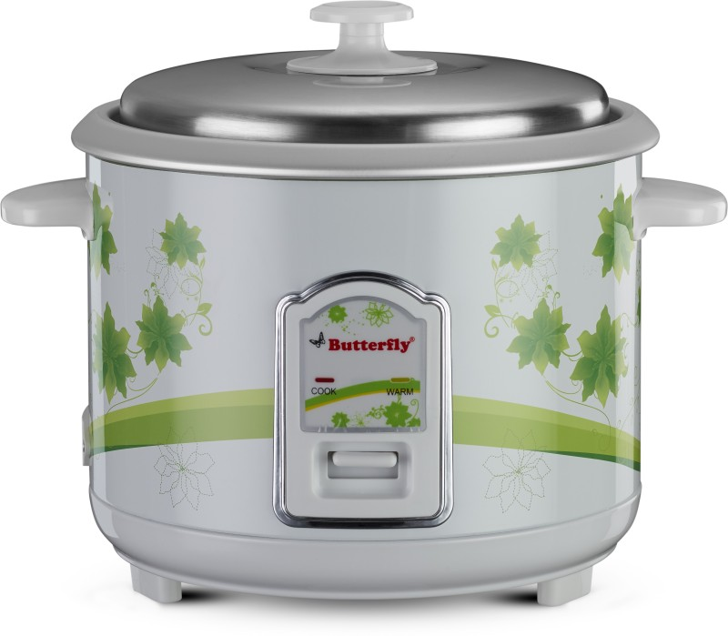 Butterfly JADE Electric Rice Cooker(1.8 L, White)