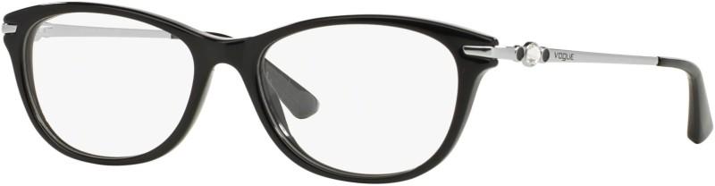 Vogue Full Rim Cat-eyed Frame(53 mm)