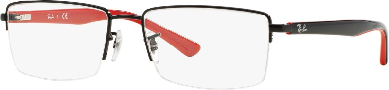 Ray-Ban Half Rim Rectangle Frame(54 mm)