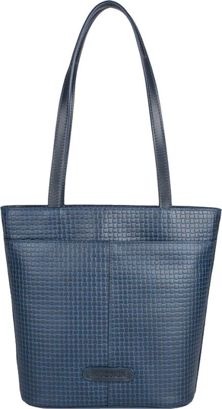 Hidesign Hand-held Bag(Blue)