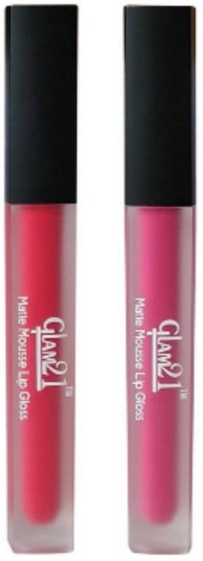 Glam 21 Glam 21 Matte Mousse Lip Gloss(6 ml, peach, pink)
