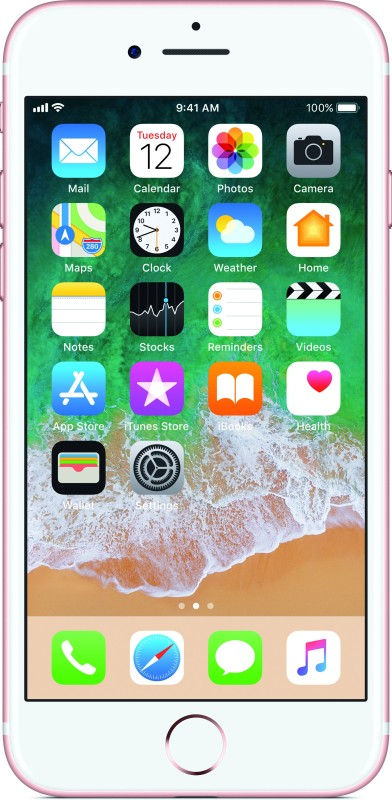Apple iPhone 7 (Rose Gold, 256 GB)