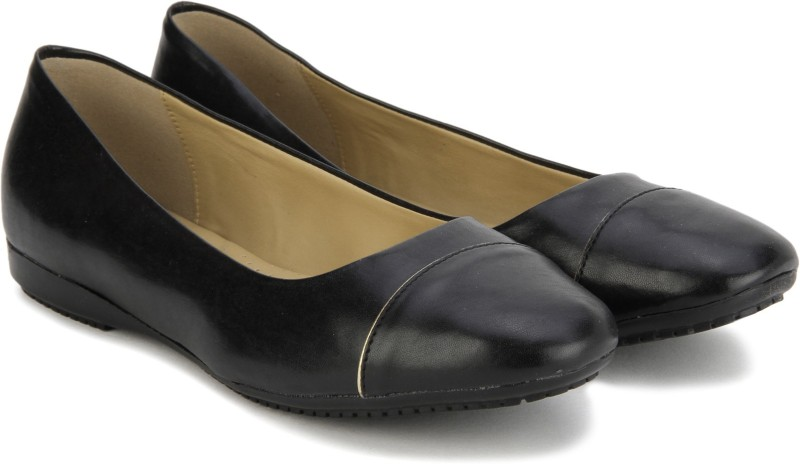 Bata GOLD PIPING BelliesBlack