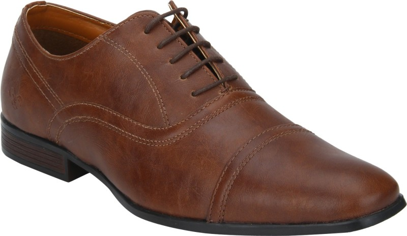 Bond Street By Red Tape Men Oxfords Lace Up For Men(Tan)