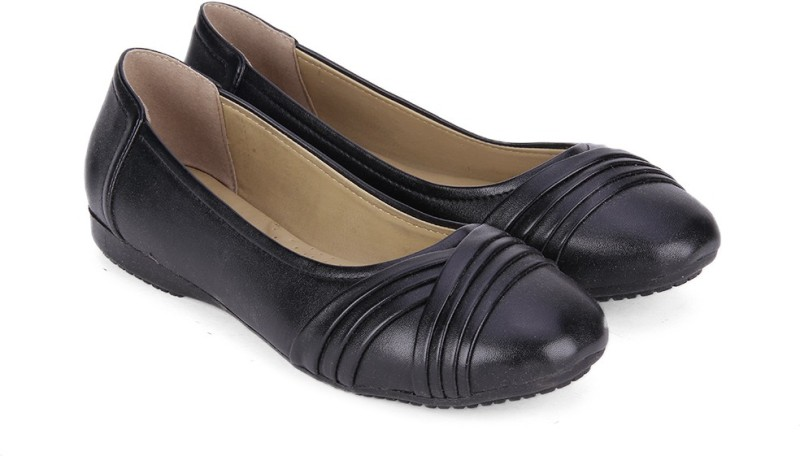 Bata PLEATED BALLERINA BelliesBlack