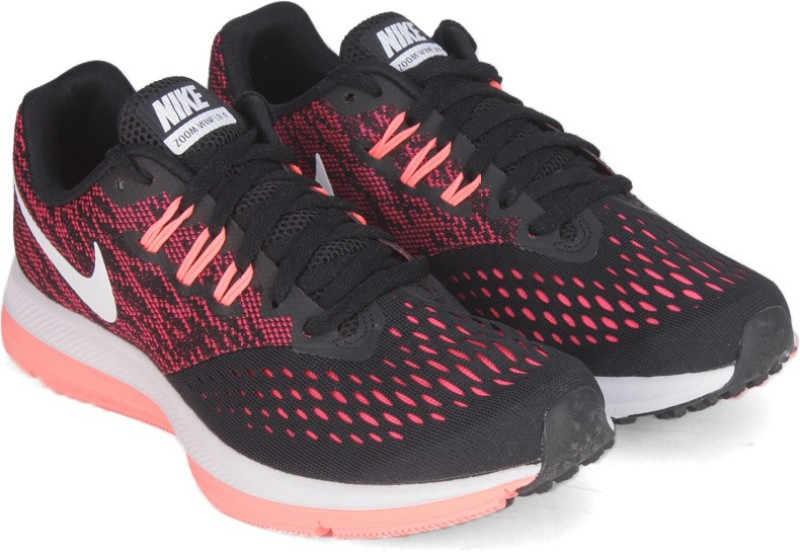 Nike WMNS NIKE ZOOM WINFLO 4 Running ShoesBlack Red