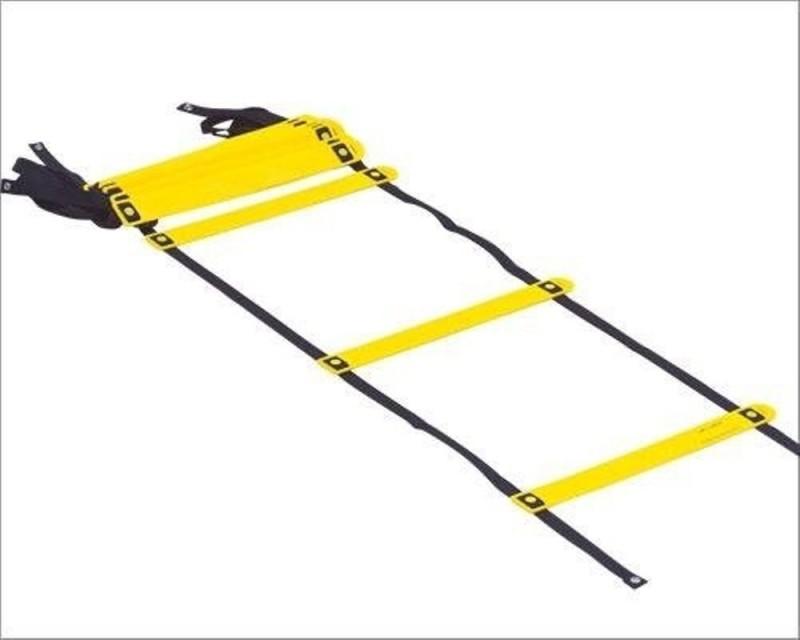 CW 12 Adjustable Rungs Speed Ladder(Yellow)