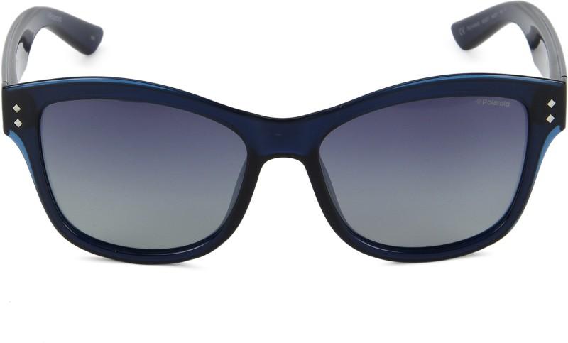 Polaroid Wayfarer Sunglasses(Blue)