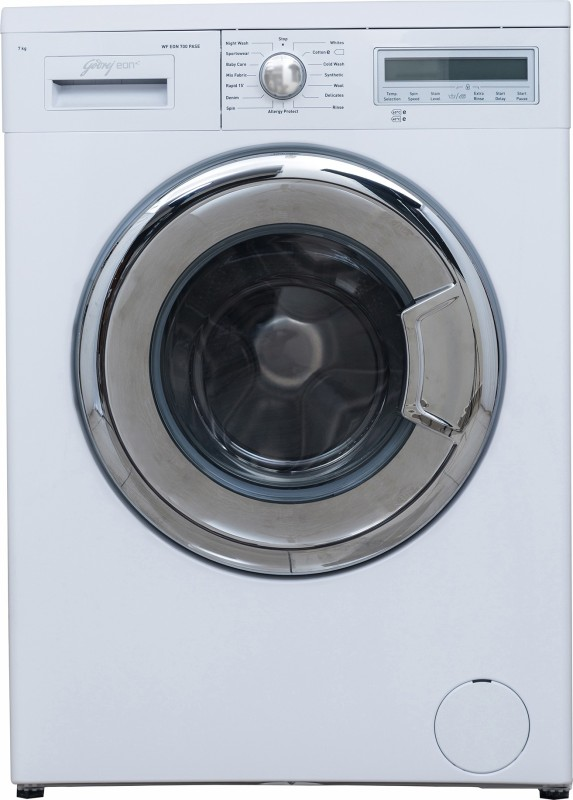 Godrej 7 kg Fully Automatic Front Load Washing Machine White(WF...
