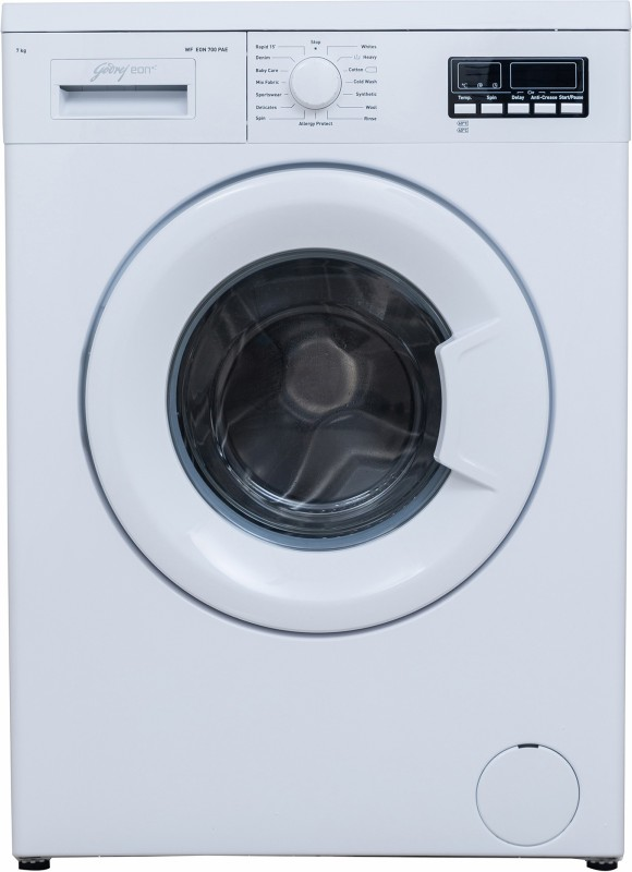 Godrej 7 kg Fully Automatic Front Load Washing Machine White(WF Eon 700...