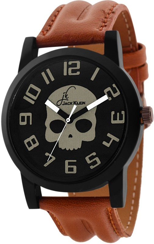 Jack Klein Ghost Edition Brown pu Strap Watch  - For Boys