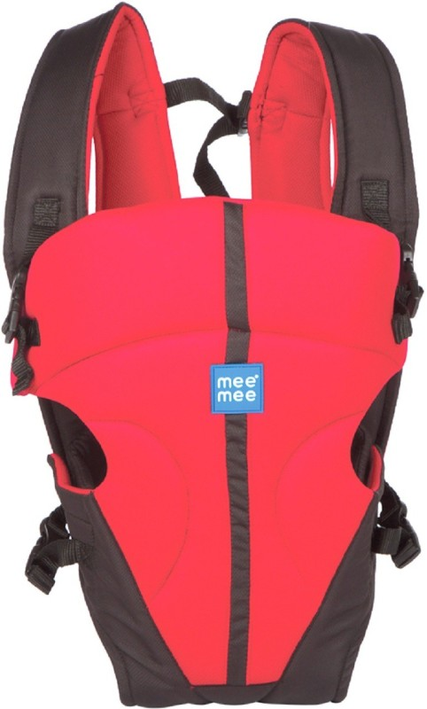 MeeMee Lightweight Breathable Baby Carrier (Red) Baby Carrier(Red, Front carry facing out)