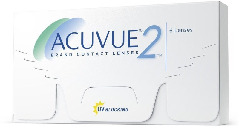 Acuvue Value Pack Weekly Contact Lens Weekly Contact Lens(6, Clear, Pack of 6)
