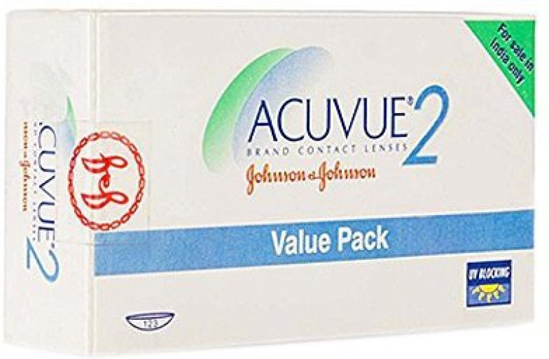Acuvue Value Pack Weekly Contact Lens Weekly Contact Lens(6, Clear, Pack of 12)