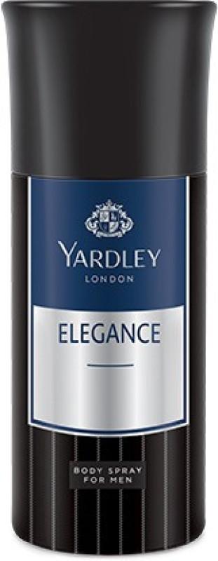 Yardley Elegance Deo Pack of 1 Deodorant Spray - For Men(150 ml)
