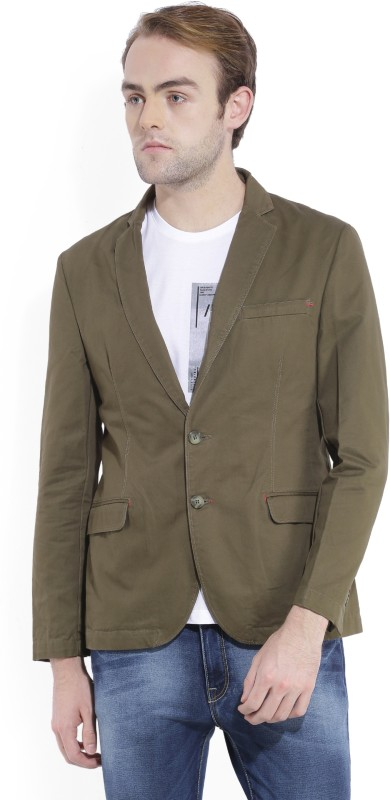 Parx Full Sleeve Solid Men Jacket