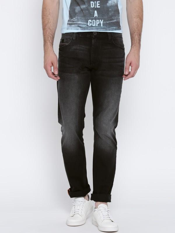 John Players Slim Mens Black Jeans