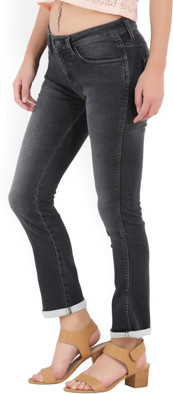 Wrangler Slim Womens Black Jeans