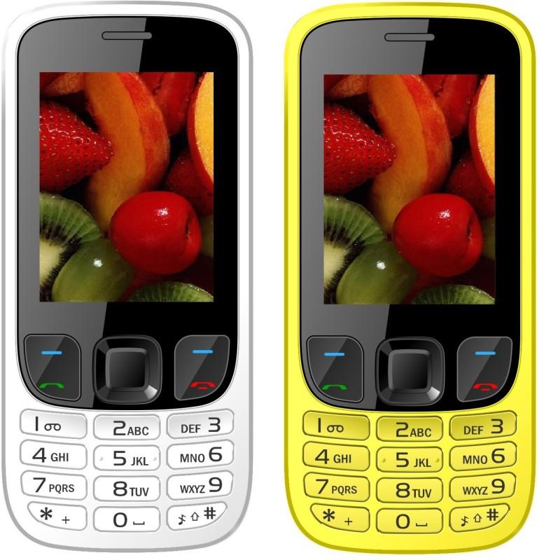 i-kall-k29-combo-of-two-mobilewhite-yellow