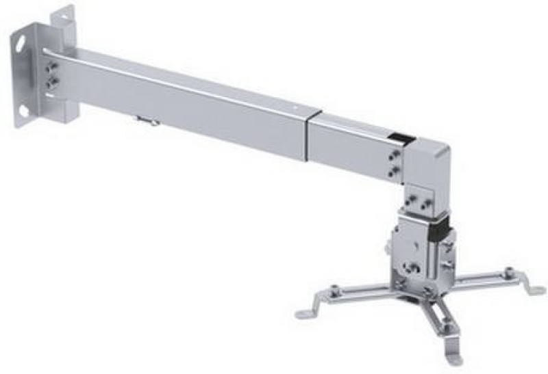 Gadget-Wagon Rotatable 180 deg and tilt 15 deg with 54 cm- 3 feet expandable Projector Stand(Maximum Load Capacity 20 kg)