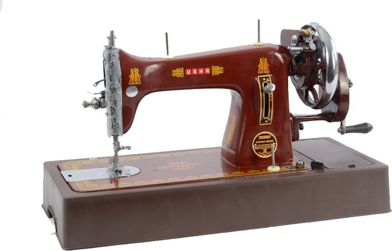 Usha bandhan composite dlx with cover Manual Sewing Machine( Built-in Stitches 1)
