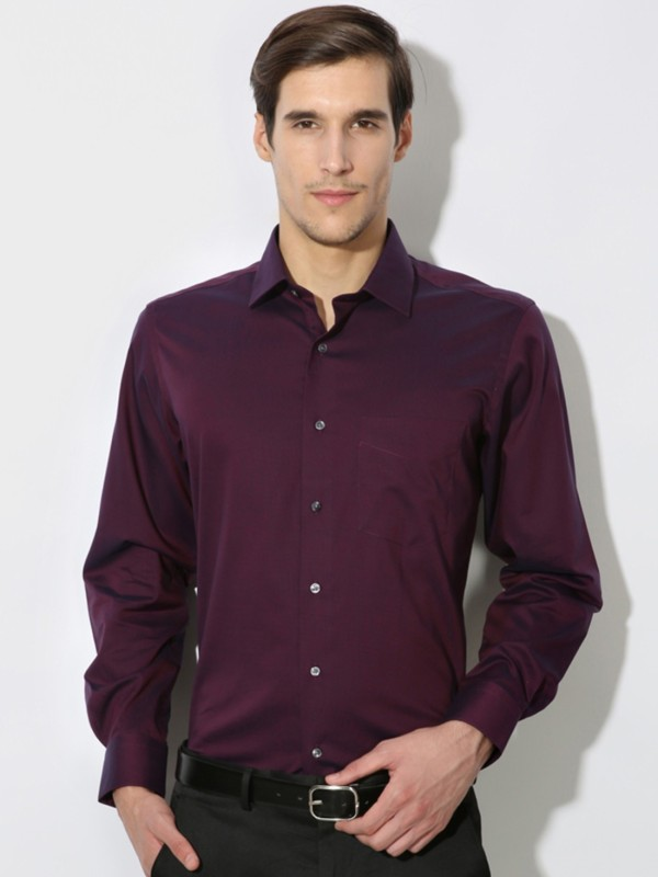 Van Heusen Men's Solid Casual Shirt