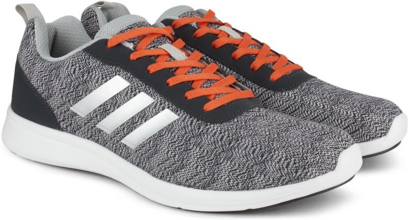 Adidas ADIRAY 10 M Running Shoes(White, Grey) ADIRAY 10 M