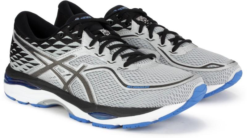 Asics GEL-CUMULUS 19 Running Shoes For Men(Black, Grey)