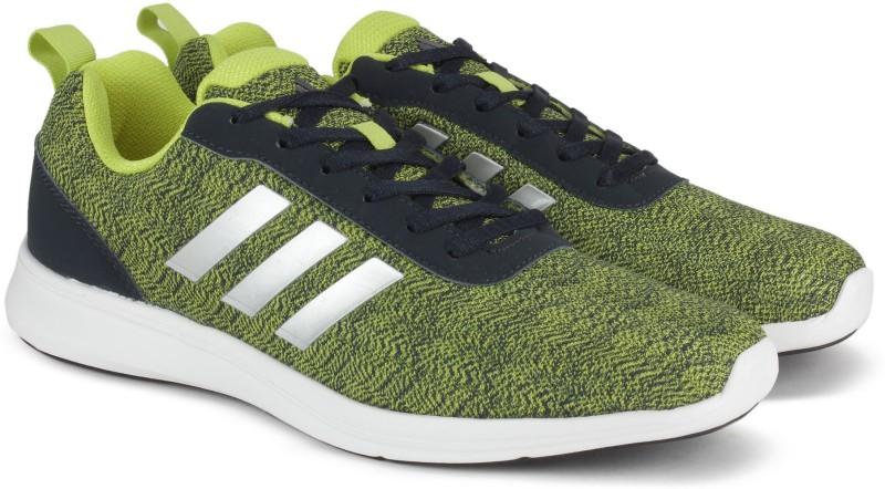 Adidas ADIRAY 10 M Running Shoes(Yellow, Blue) ADIRAY 10 M