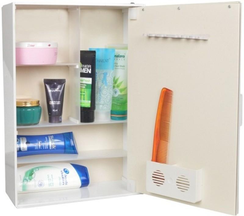 WINACO Moonlight Bathroom Cabinet Storage Box(White)