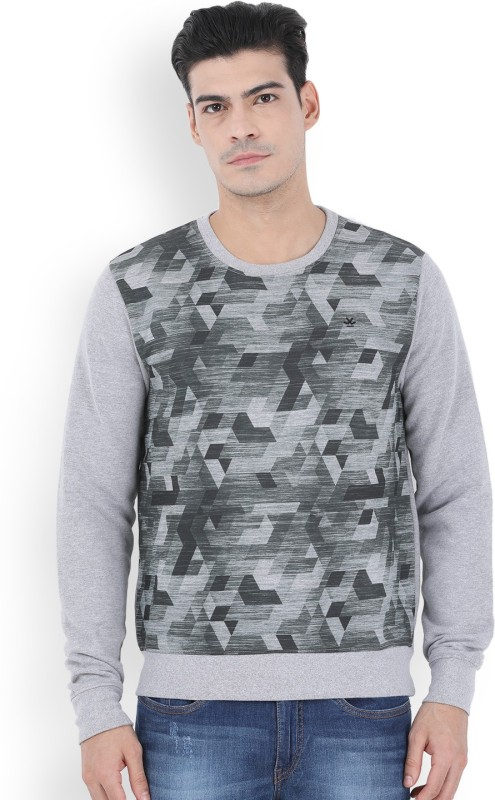WROGN Full Sleeve Mens Sweatshirt