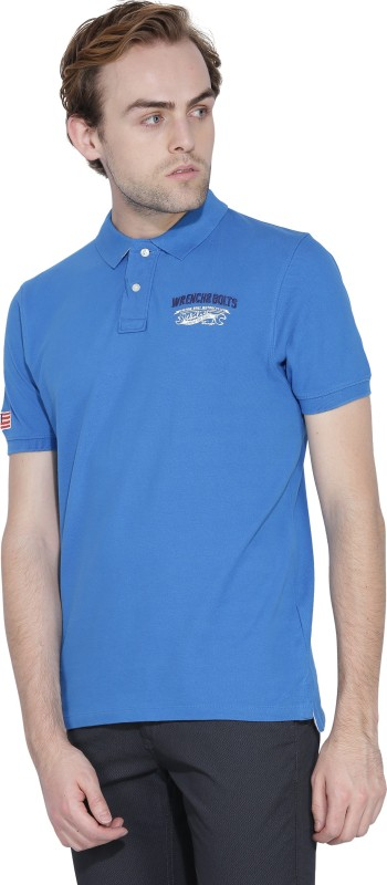 Wrangler Solid Mens T-Shirt
