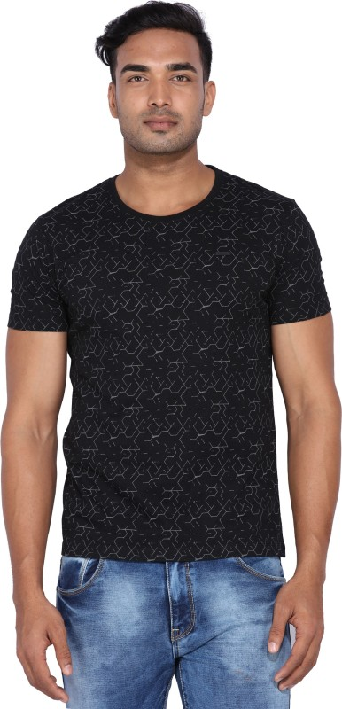 Wrangler Printed Mens Round Neck T-Shirt