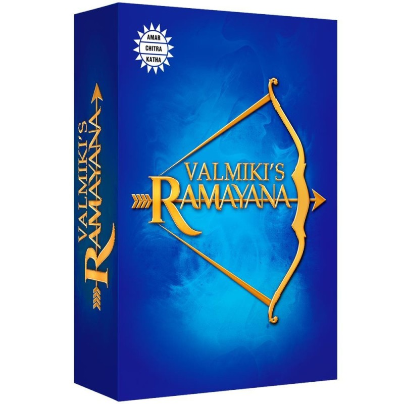 Valmik'is Ramayana 6 volume(English, Hardcover, Reena Ittyerah Puri)
