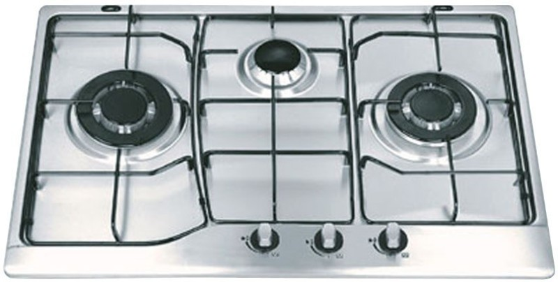 Ariva Stainless Steel Automatic Gas Stove(3 Burners)