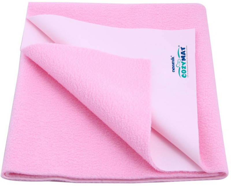 Cozymat Soft, Waterproof, Reusable Mat / Underpad / Quick / Absorbent Dry Sheets / Mattress Protector, Single Bed (140cm*220cm)(Pink)