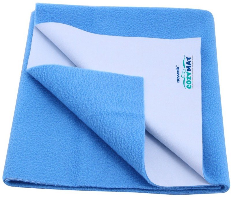 Cozymat Soft, Waterproof, Reusable Mat / Underpad / Quick / Absorbent Dry Sheets / Mattress Protector, Double Bed (200cm*260cm)(Blue)