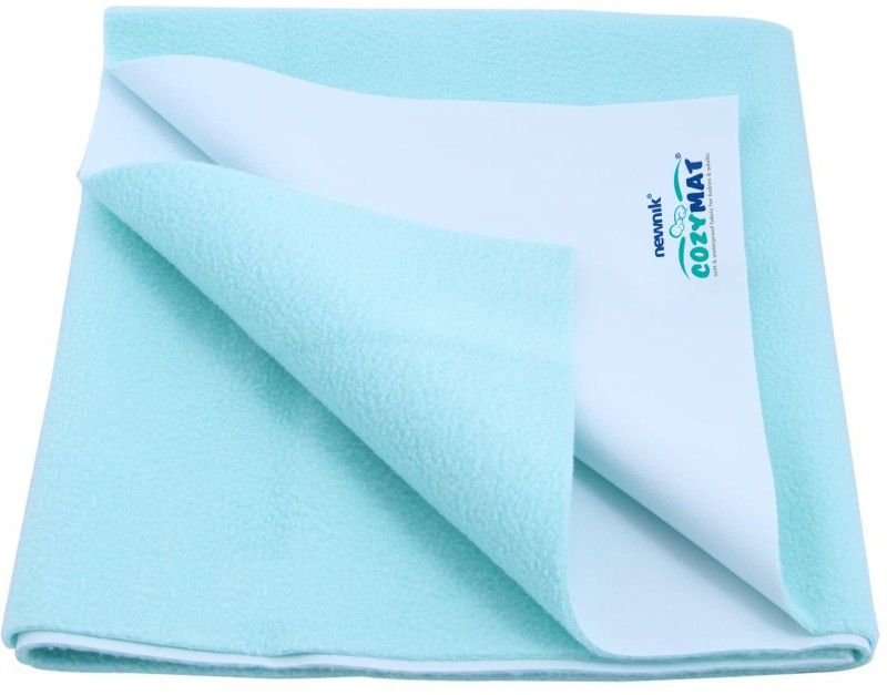 Cozymat Soft, Waterproof, Reusable Mat / Underpad / Quick / Absorbent Dry Sheets / Mattress Protector, Double Bed (200cm*260cm)(Green)