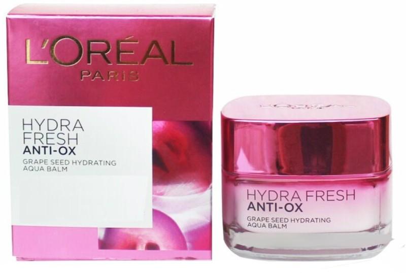 LOreal Hydrafresh Anti Ox Aqua Balm, Moisturising Cream(50 ml)