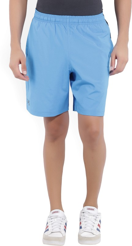 Under Armour Printed Men's Blue Sports Shorts