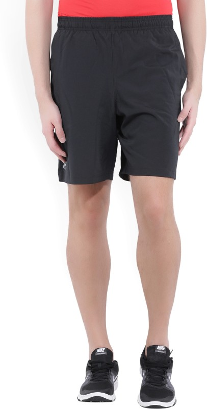Under Armour Printed Mens Black Sports Shorts