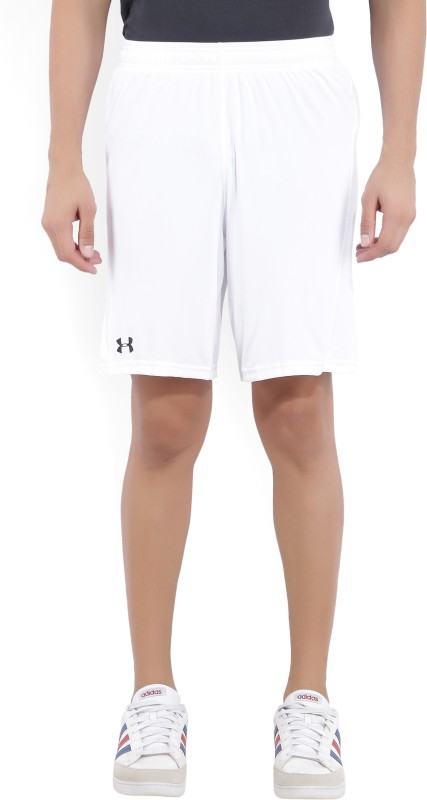 Under Armour Solid Men's White Sports Shorts