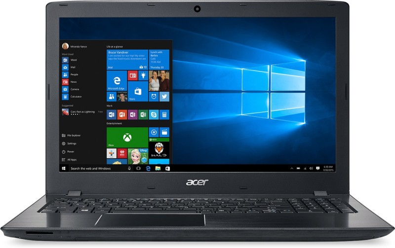 Acer Aspire Core i3 6th Gen - (4 GB/1 TB HDD/Windows 10 Home/2 GB Graphics) E5-575G Laptop(15.6 inch, Black, 2.23 kg) image