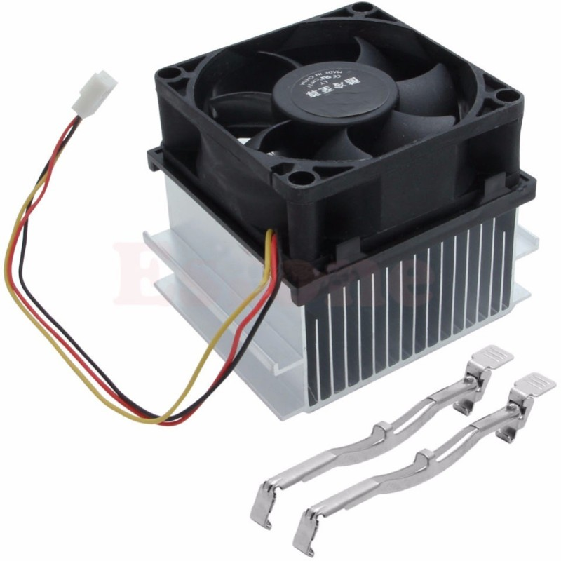 buyyart New 70mm Cooling fan Heatsink For Socket LGA 478 For P4, Pentium 4, Celeron-D Cooler(Silver)