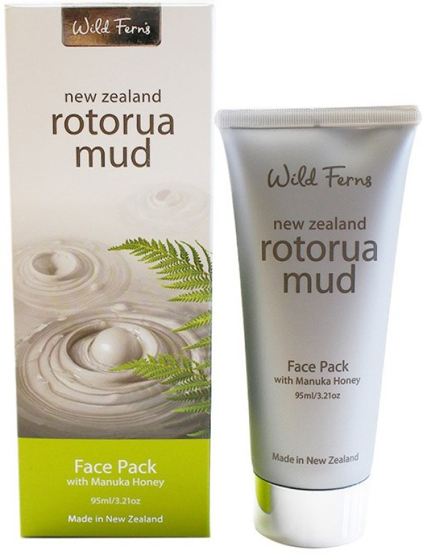 Wild Ferns Wild Ferns Rotorua Mud Face Pack with Manuka Honey 95ml(95 ml)