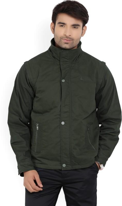 Parx Full Sleeve Solid Men Jacket
