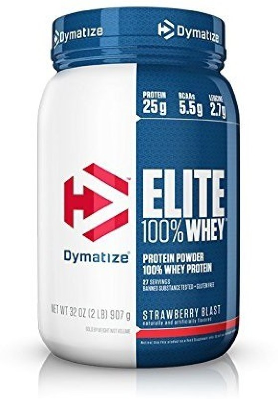 Dymatize Elite Whey Protein(907 g, strawberry)