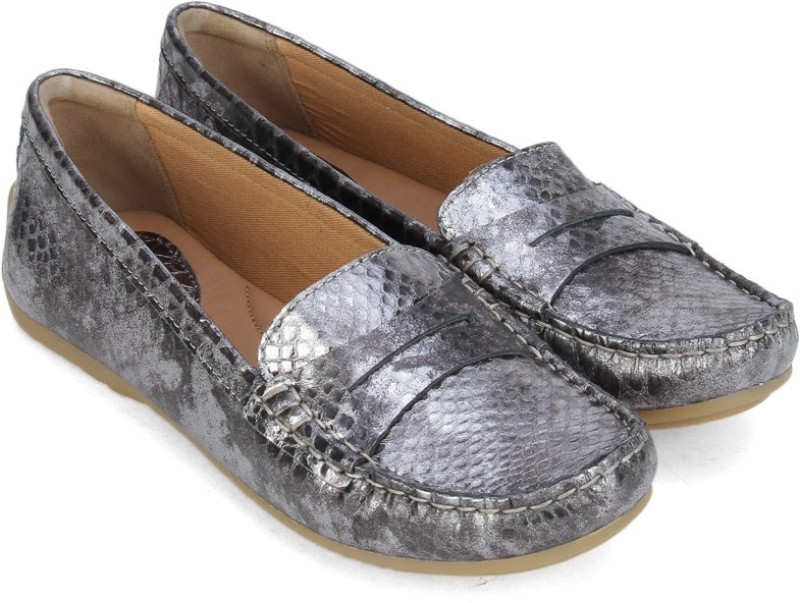 Clarks Doraville Nest Loafers For Women(Grey)
