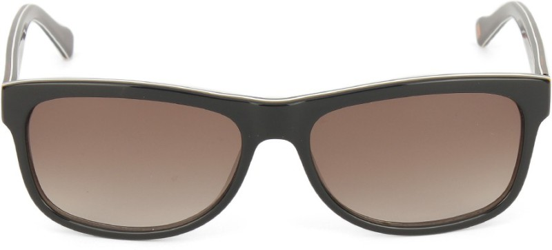 Boss Orange Rectangular Sunglasses(Brown)